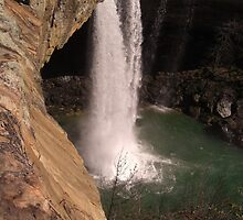 The Other Side of Noccalula Falls by Charldia