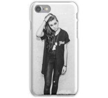 Lynn Gunn Black & White iPhone Case/Skin