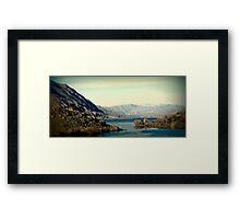 Beauty of Washington Framed Print