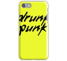Drunk Punk iPhone Case/Skin