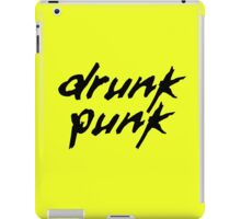 Drunk Punk iPad Case/Skin