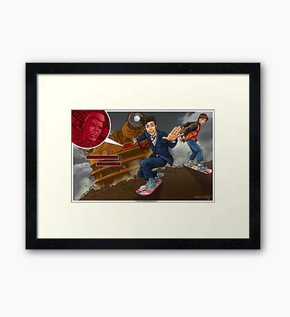 Back to the TARDIS part 3 Framed Print