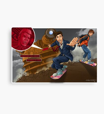 Back to the TARDIS part 3 Canvas Print