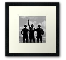 Best, Law and Charlton Framed Print