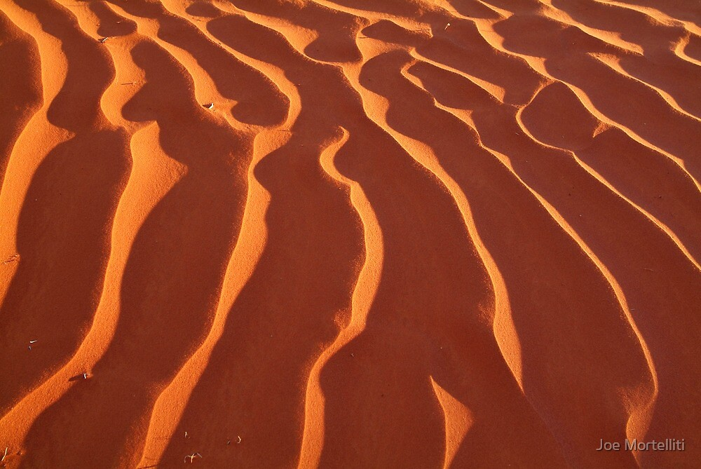 Light Play,Simpson Desert by Joe Mortelliti