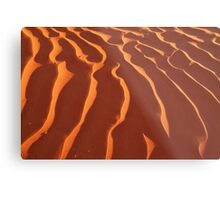 Light Play,Simpson Desert Metal Print