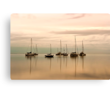 Resting - Eastern Beach Geelong Victoria Canvas Print