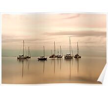 Resting - Eastern Beach Geelong Victoria Poster