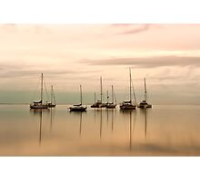 Resting - Eastern Beach Geelong Victoria Photographic Print