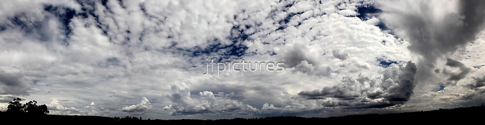The sea in the sky  by jfpictures