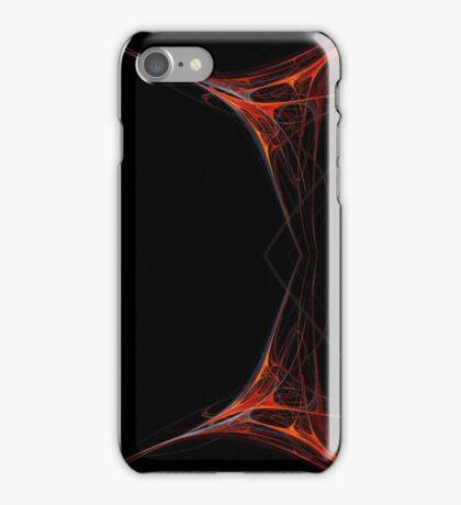 Fractal 40 Red Frame iPhone Case/Skin