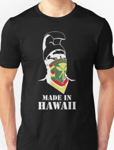 Made In Hawaii_WHITE outline Unisex T-Shirt