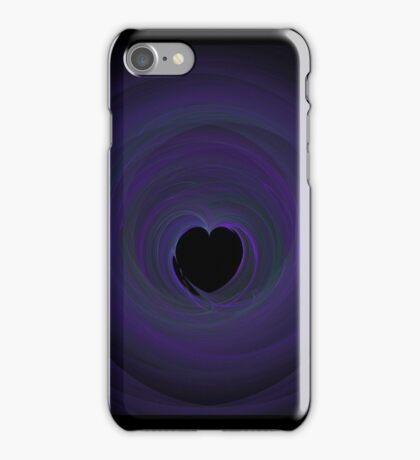 Fractal 47 Blue iPhone Case/Skin