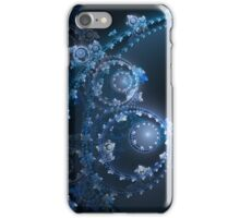 Blue Gears iPhone Case/Skin