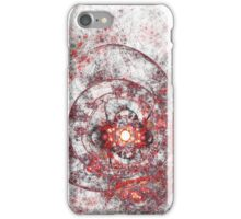 Red Clockwork iPhone Case/Skin
