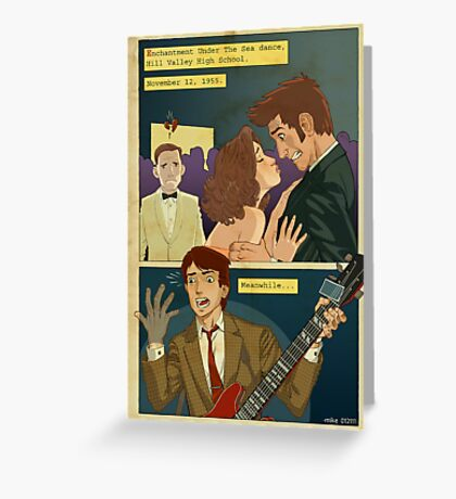 Back to the TARDIS part 2 Greeting Card