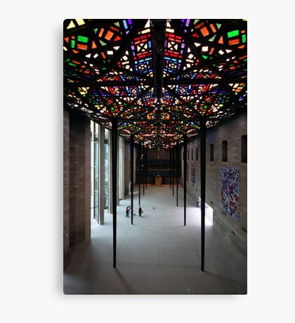 Melbourne NGV - The Great Hall Canvas Print