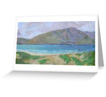 Dunes by the Loch Greeting Card