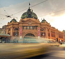 Flinders Street Station by Alex Wise