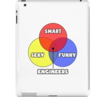 Venn Diagram - Engineers iPad Case/Skin