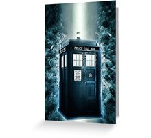 Journey to another Dimension Greeting Card