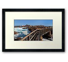 Canal Rocks - Margaret River Framed Print