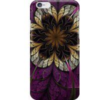 Dark Fractal Flower iPhone Case/Skin