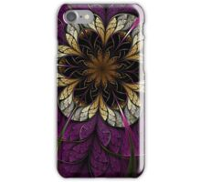 Dark Fractal Flower iPhone Case/Skin