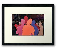 Loving the Nightlife - #57 Framed Print