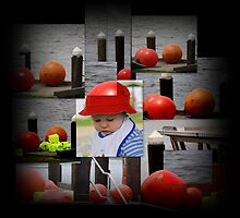 Lots of Red Bubbles and one Red Hat by myraj