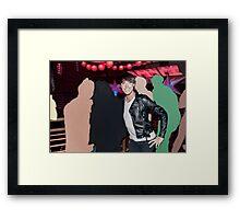 Loving the Nightlife - #46 Framed Print