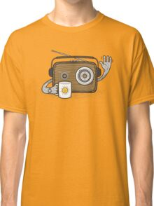 Radio Waves Good Morning Classic T-Shirt