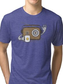 Radio Waves Good Morning Tri-blend T-Shirt