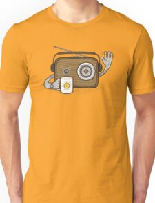 Radio Waves Good Morning Unisex T-Shirt