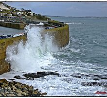 """ Mousehole gets a pounding"" by Malcolm Chant"