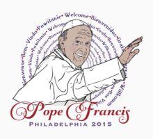 Welcome Pope Francis Philadelphia 2015 Kids Tee