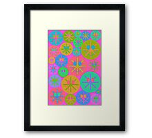 Sweet Happy Smiley Framed Print