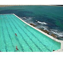 Aqua vitae Photographic Print