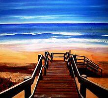 """90 Mile Beach by Belinda """"BillyLee"""" NYE (Printmaker)"""