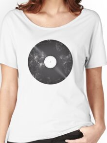 Scratched Record Women's Relaxed Fit T-Shirt