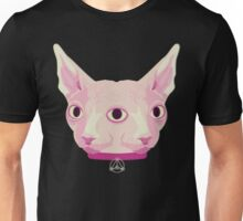 Two-Faced Sphynx From Outer Space Unisex T-Shirt