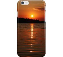 Incredible Orange Sunrise  iPhone Case/Skin