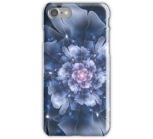 Blue Fractal Flower iPhone Case/Skin