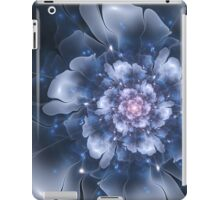 Blue Fractal Flower iPad Case/Skin