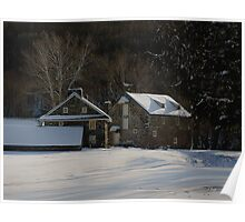 Andrew Wyeth Estate in Winter Poster