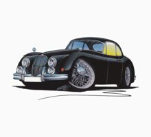 Jaguar XK150 Coupe Black by Richard Yeomans