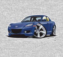 Mazda RX8 Blue Kids Tee