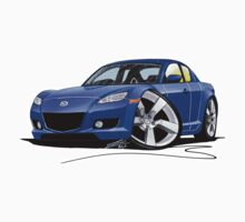 Mazda RX8 Blue Kids Clothes