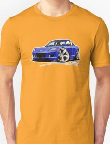 Mazda RX8 Blue T-Shirt