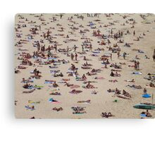 4, Sans Bikini Top at Bondi Canvas Print